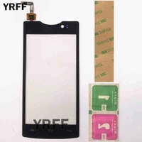 4 5 mobile touch panel touchscreen for micromax d320 touch screen digitizer front glass digitizer sensor touchscreen 3m glue