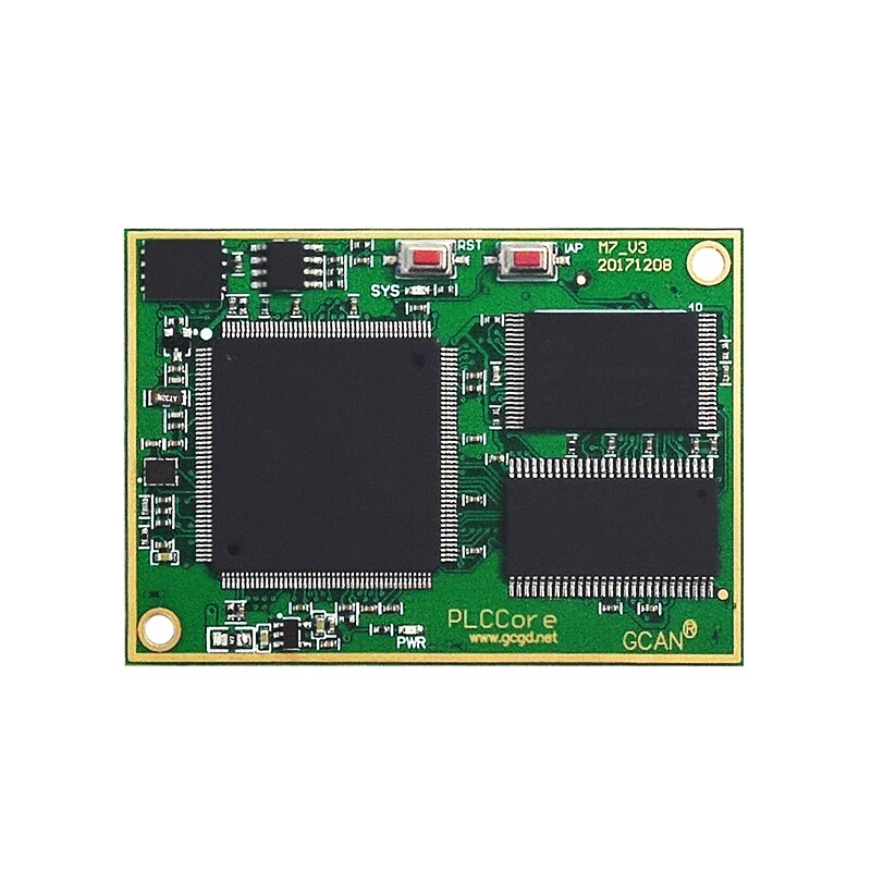 Industrial grade PLC developing GCAN PLC core board used for CAN industrial auto control system developing.