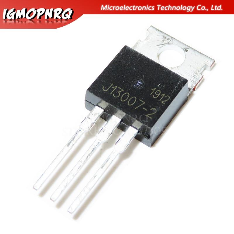 10pcs FJP13007 MJE13007 J13007 J13007-2 TO-220 novo original