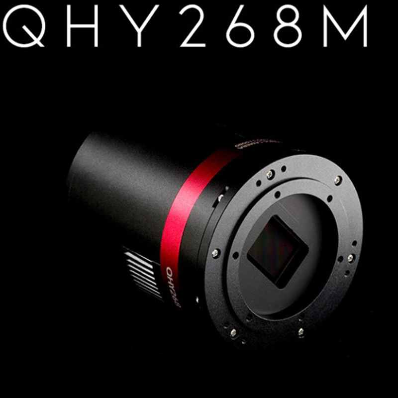 QHY268Mis كاميرا CMOS تبريد ، الخلفية مضيئة ، على أساس جهاز استشعار سوني IMX571 مع 16 بت/D الأصلي و 3.76um بكسل.