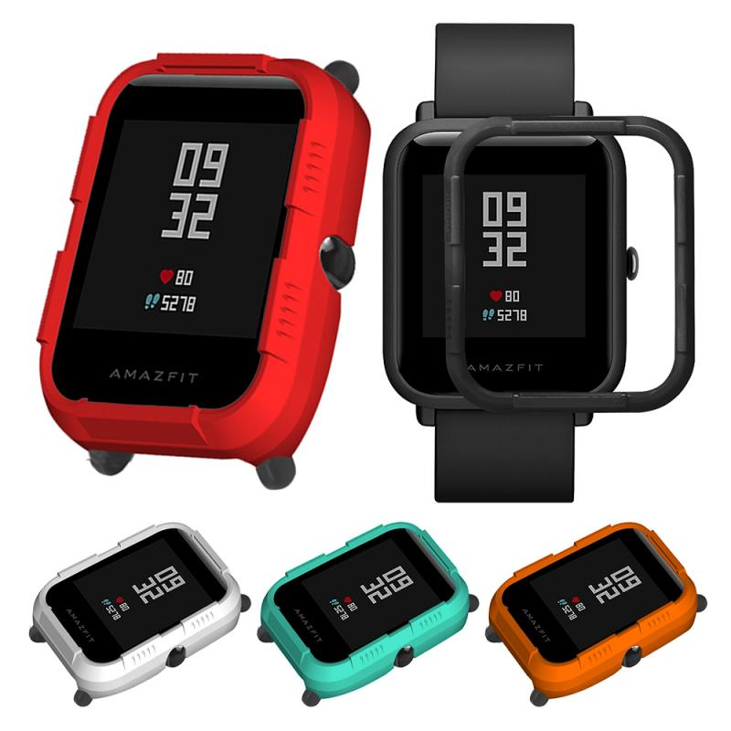 screen protector Full Case Cover Shell Protector Protective smart watch Frame Accessories For Xiaomi Huami Amazfit Bip Bit Youth protection case for huami amazfit bip s replacement pc watch case cover shell frame protector for xiaomi huami amazfit bip lite