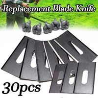 anti rust lawn mower blade stainless steel trimmer blade durable grass replacement trimmer cutter piece for robot mower blade