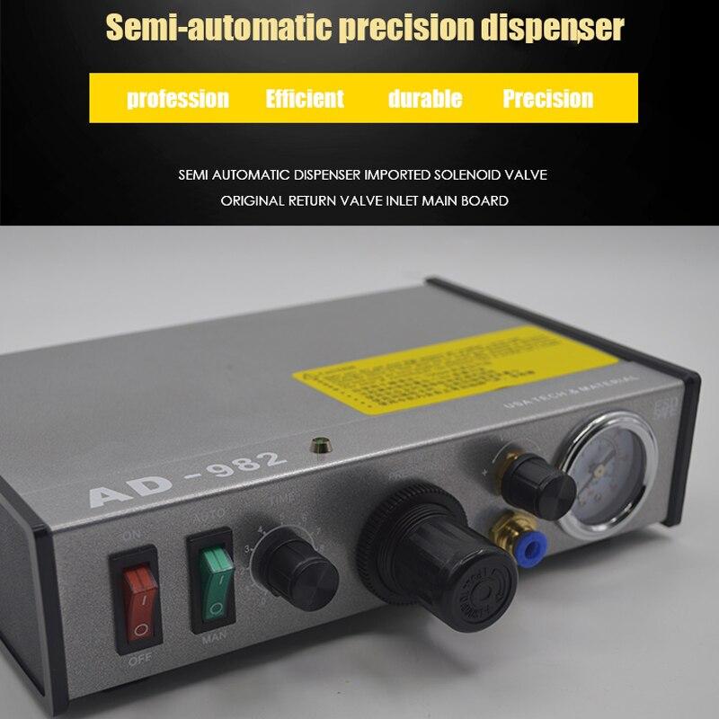 Semi Automatic Dispenser Automatic Glue Injection Precise Glue Machine Silica Gel Manual Controller Efficient Filling Machine