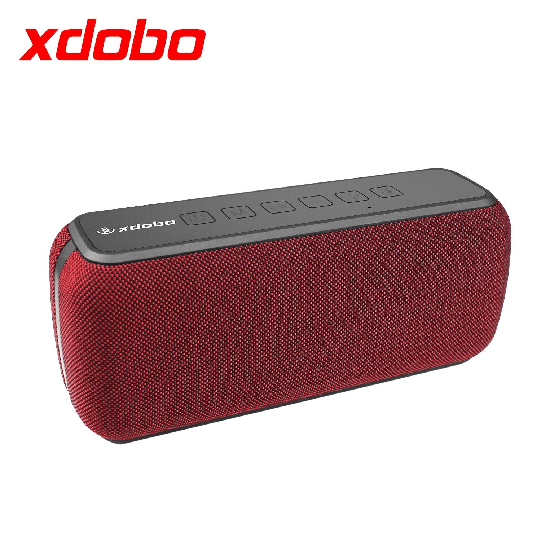 XDOBO X8 60 واط المحمولة سماعة لاسلكية تعمل بالبلوتوث مكبرات الصوت TWS باس مع مضخم للصوت IPX5 اتصال مقاوم للماء المسافة 80 متر 15H وقت اللعب