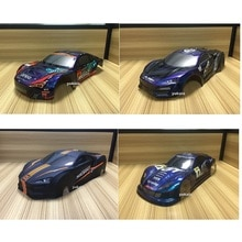 5 species 1/10 RC Car 195/190mm PVC painted Body Shell  for 1:10 RC hobby racing drift car hsp