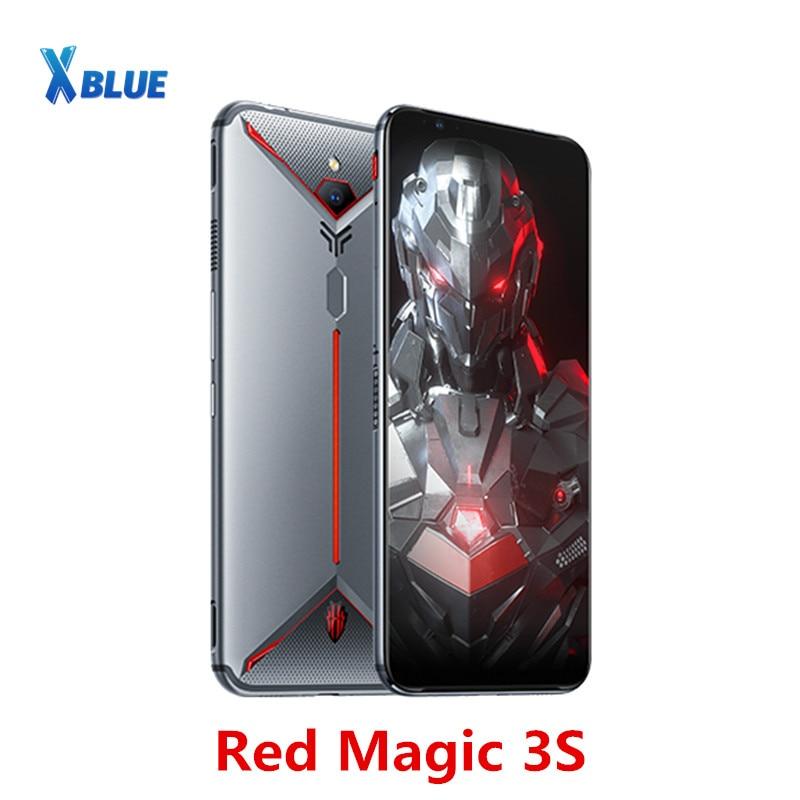 Перейти на Алиэкспресс и купить Смартфон глобальная версия Nubia Red Magic 3S, 8 ГБ, 128 ГБ, 6,65 дюйма, Snapdragon 855 Plus, 48 Мп + 16 Мп, 5000 мАч, игровой телефон с быстрой зарядкой