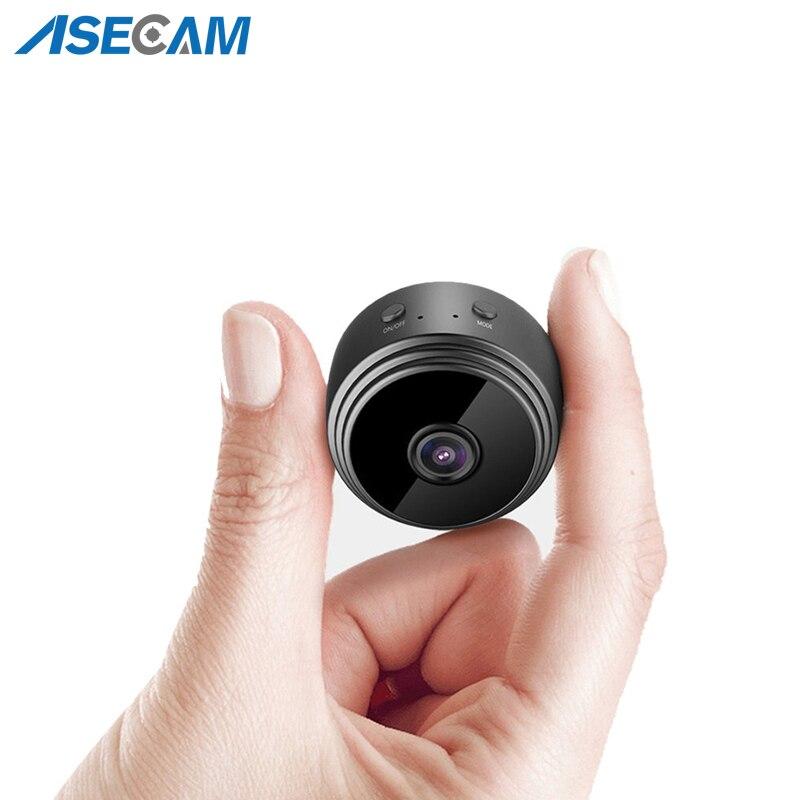 Мини цифровая камера регистраторы с магнитом HD 1080P беспроводная Wi-Fi камера датчик движения ночное видение сетевая няня камера