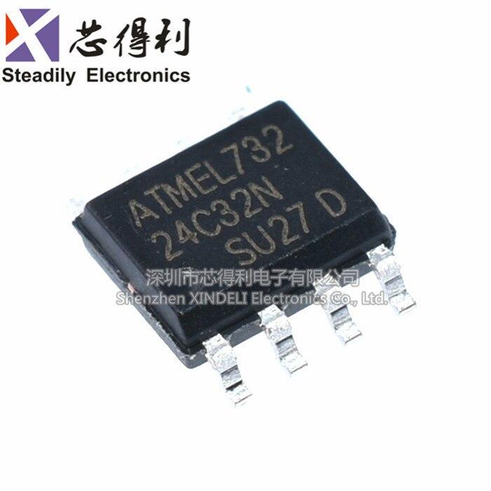 10 pçs/lote Brand New At24c32 24C32 24c32n Porta Serial Memória Etano 24c32an Sop