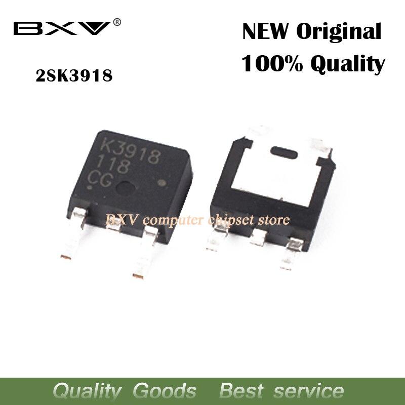 10PCS 2SK3918 K3918 TO-252 SOT MOSFET SMD Transistor new original