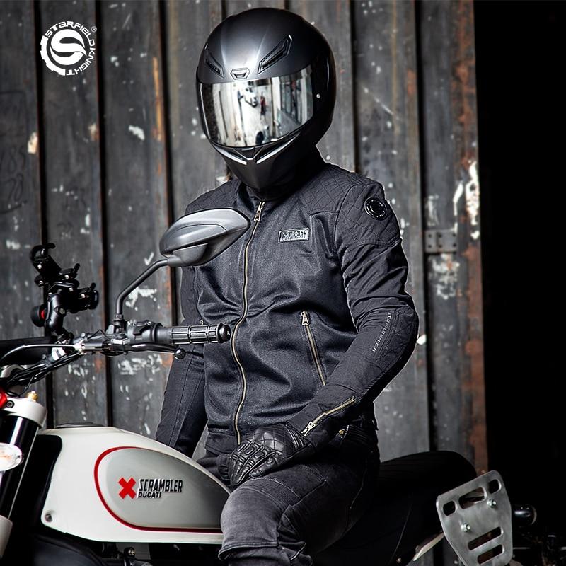 2021SFK جديد للدراجات النارية ركوب الملابس شبكة النسيج التهوية الراحة الصيف ركوب سترة واقية CE حامي