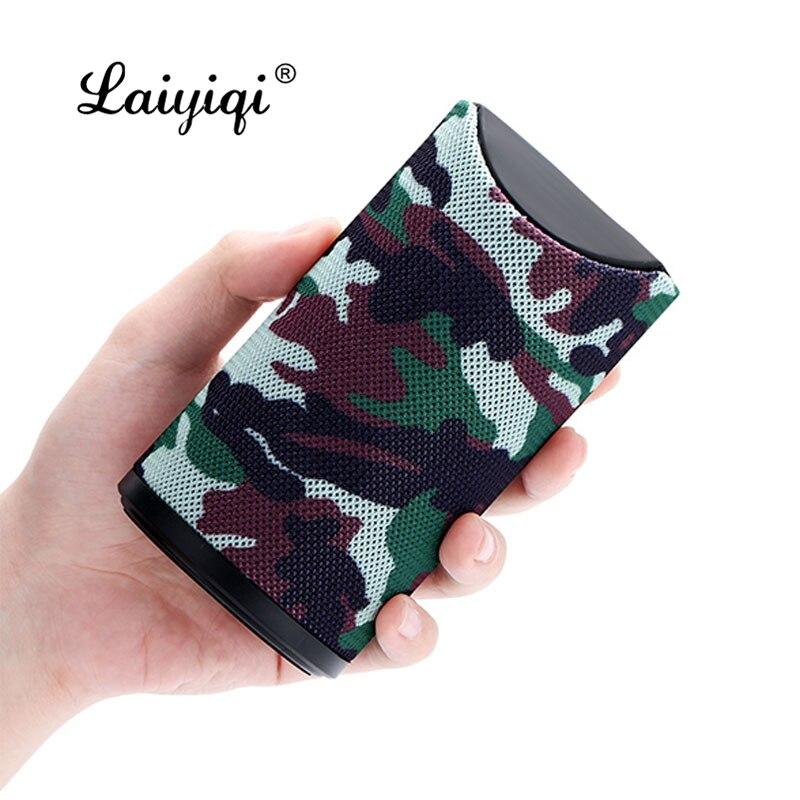 Laiyiqi-altavoz Portátil con Bluetooth, columna de Arte de tela, altavoz con Bluetooth,...
