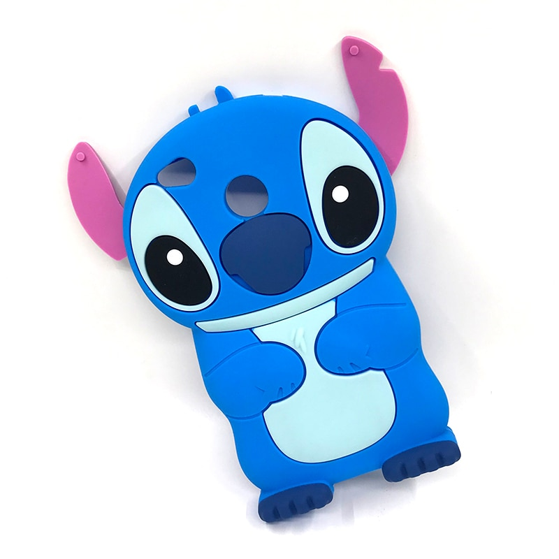 Lindo 3D de dibujos animados Lilo puntada de silicona suave, funda para Xiaomi Mi A1 A2 Lite 6X Redmi/6/6A/4X/S2/Nota 5 Pro cubierta de goma del teléfono casos