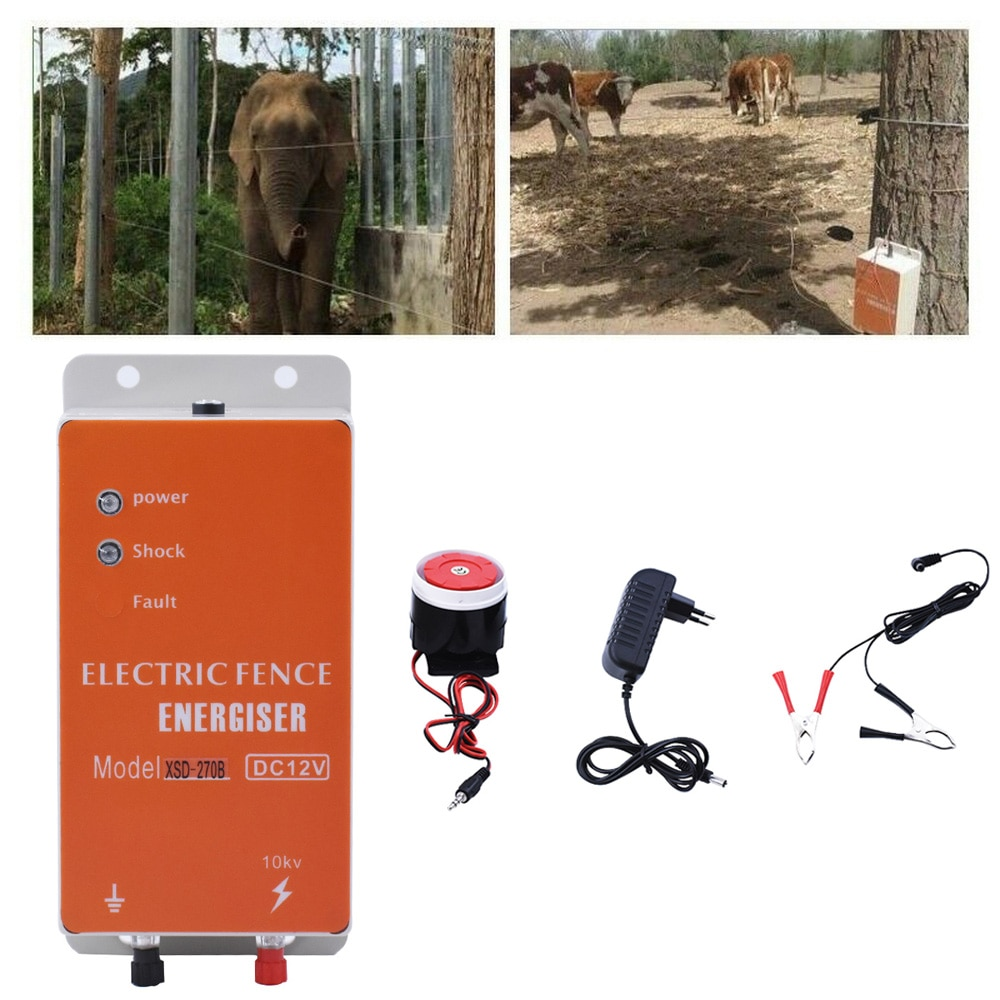 Eléctrico Pastor cerca para los animales eléctrica Solar cerca de Energizer controlador...