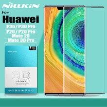 Para Huawei Mate 30 P30 P20 Pro protector de pantalla de vidrio templado Nillkin 3D cobertura completa protección de vidrio de seguridad en Mate 30 20