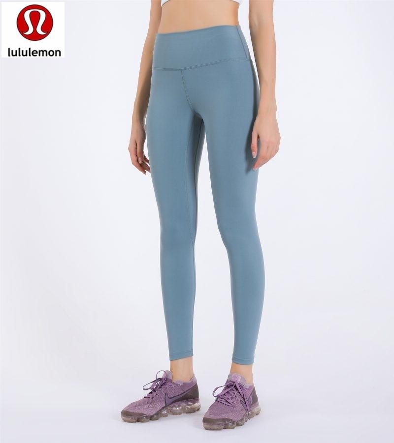 Lululemon- Anti-sweat Mention Hip Sport Gym Leggings Women High Waisted Fitness Pants Seamless Dance