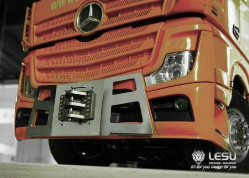LESU Tractor Truck 1/14 RC Front Metal Bumper Hook for Tamiya Highline Benz 1851 3363 TH02571-SMT5 enlarge