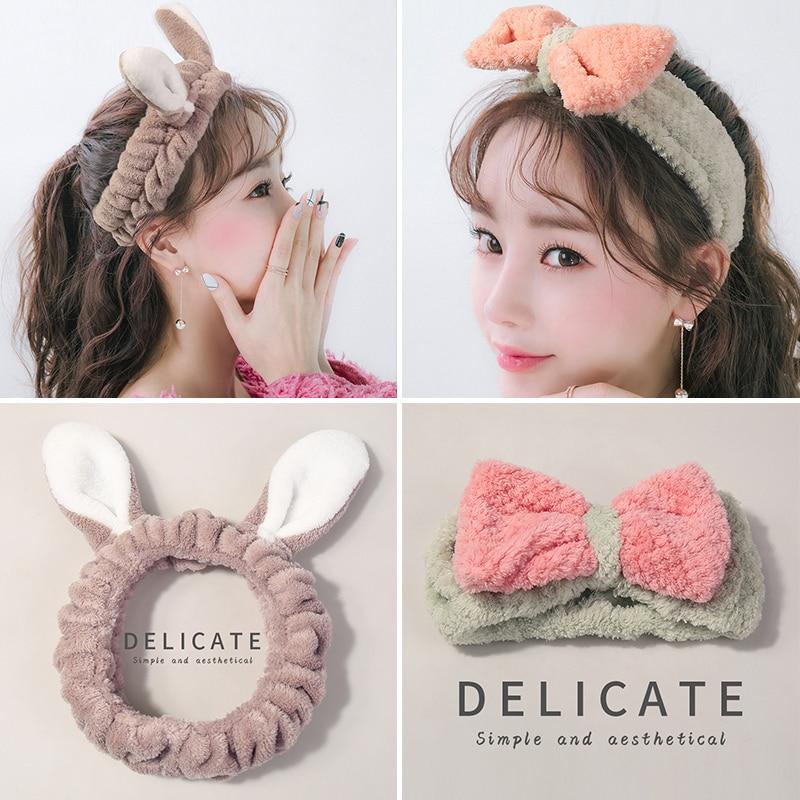 Japanese and Korean Simple Stylish Beautiful Autumn and Winter Hair Band Headband Head Accessories R