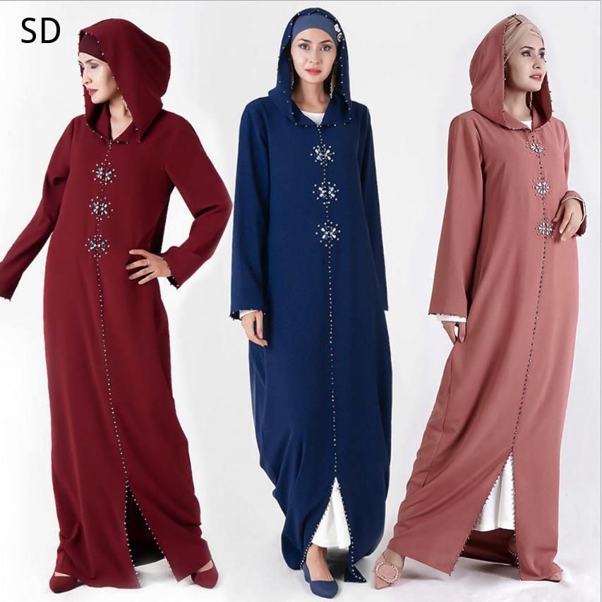 Kaftán Abaya musulmán vestido Hijab mujeres Abaya de caftán de Arabia Saudita ropa islámica turca bata Djellaba