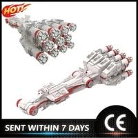 star space series moc 37561 military spaceship corellianingcorvette cr90 model building blocks bricks assemble toys
