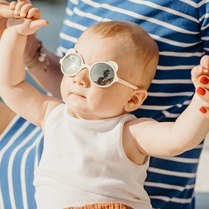 Kids Sunglasses Child Sun Glasses Round ear Gafas Baby Children UV400 Sport Sunglasses Girls Boys Oc