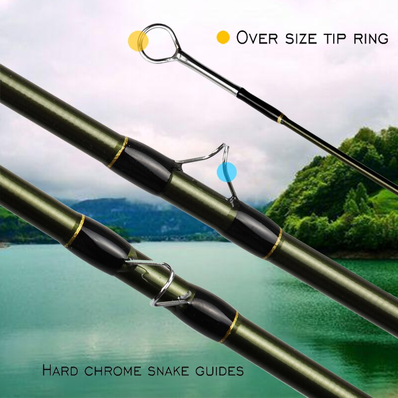 ANGLER DREAM Fishing Supplies Fly Fishing Rod Graphite IM10 36T Carbon Fiber Fast Action Trout Accessories WT Carbon Fishing Rod enlarge