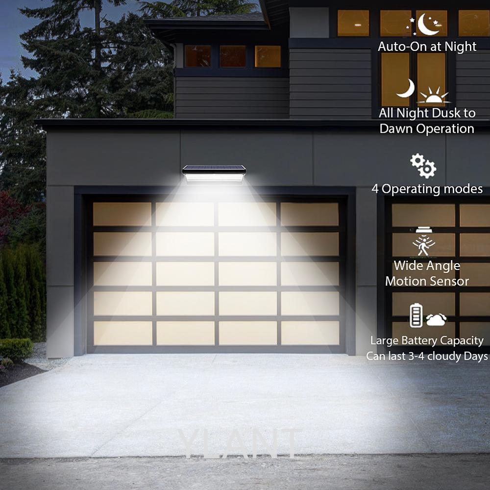 YLANT Solar Light Outdoors Motion Sensor led Solar Light Outdoor Garden 24,48,60LED For Wall Garage House Porch Outdoor Ligthing enlarge