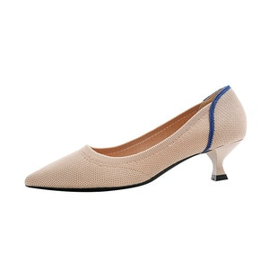 Spring New Pumps Women's Stiletto Shoes with Small Heel and Pointed Shoes Women