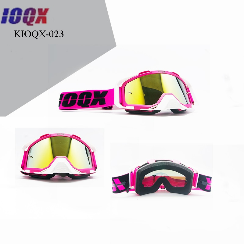 IOQX outdoor protect windproof sport skiing glasses racing motorcycle goggle for husqvarna KTM dirt pit bike goggles enlarge