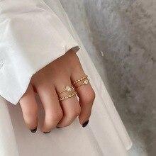 925 bague en argent Sterling mode Celi Style français géométrique chaîne irrégulière bosses larges rayures chevauchement anneau femme fille main juif