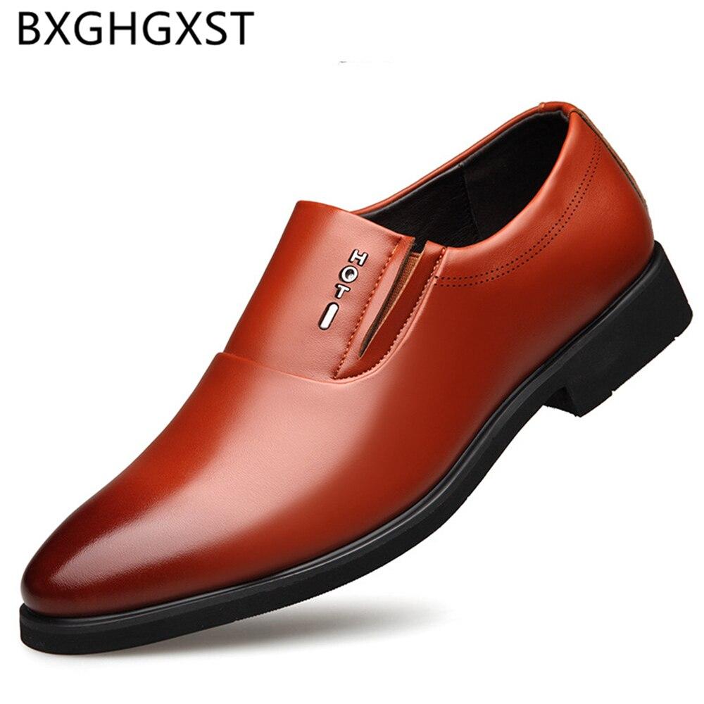 Zapatos italianos para Hombre, Zapatos altos De cuero genuino para Hombre, vestido...