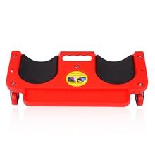 Genouillères de Protection roulantes avec roues intégrées en mousse réparation automatique Protection des genoux rembourré Creeper plate-forme pose de carreaux de vinyle