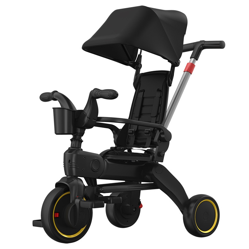 Children's Tricycle Baby Stroller Artifact Stroller Foldable Lightweight Multifunctional Infant Baby Bicycle enlarge