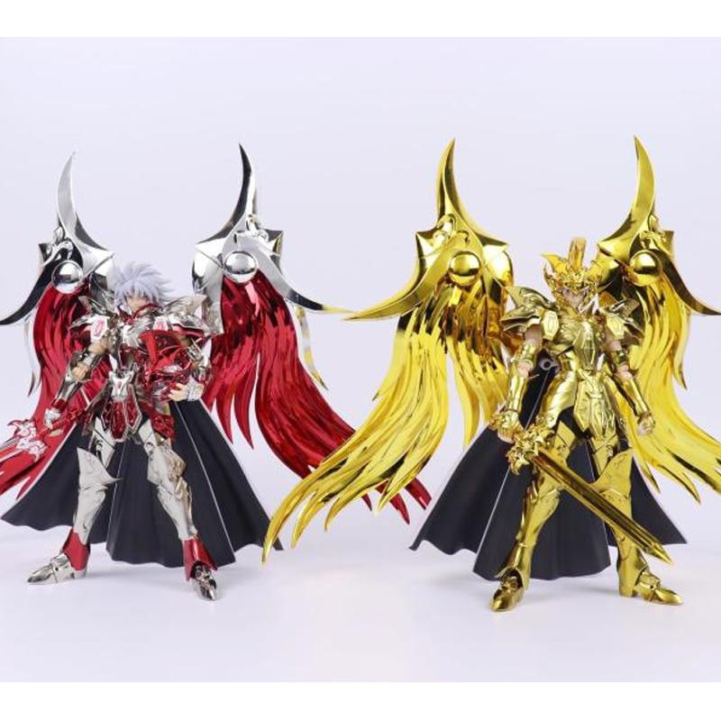 Grandes juguetes GT Saint Seiya Myth Cloth SOG Ex War god Ares armadura de Metal Myth Cloth figura de acción de oro