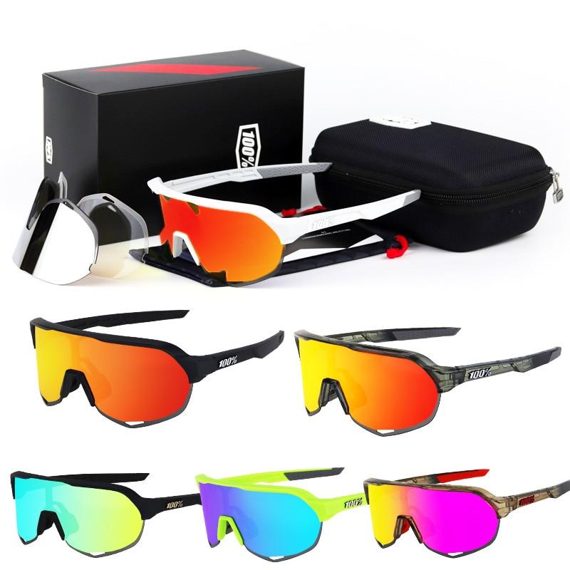 Cycling Sunglasses TR90 Sports Bicycle Glasses 100% Mountain Bike Fishing Hiking Riding Eyewear