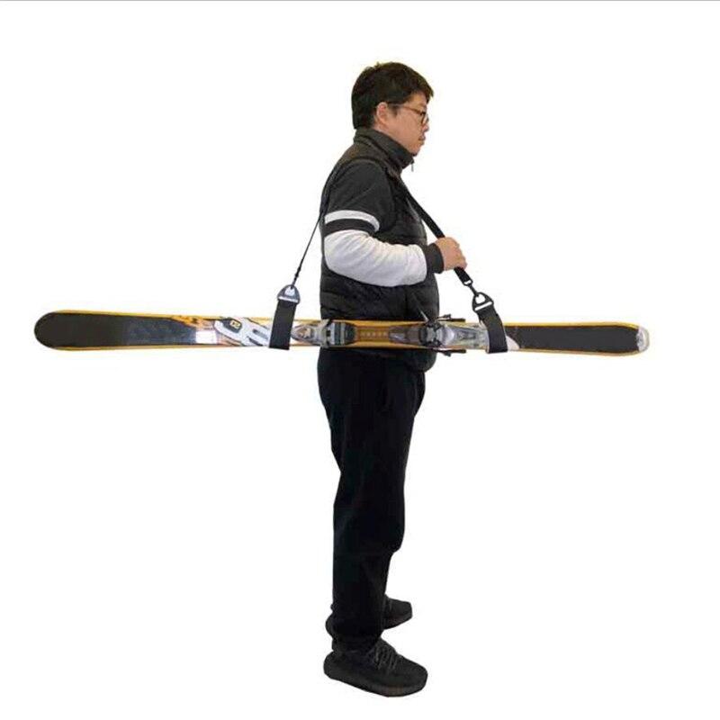 Bolsas de nailon para esquiar, ajustables, con asa de pestillo, protección de...