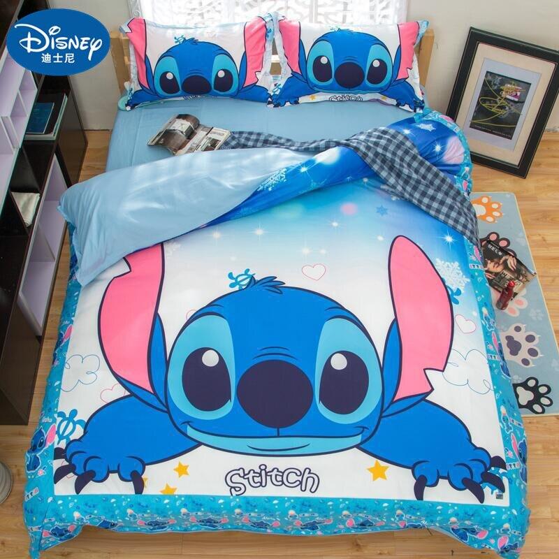 Textiles para el hogar, juego de cama de punto de dibujos animados, funda de edredón de alta calidad para niños, fundas de almohada, juegos de cama de edredón tamaño King Size