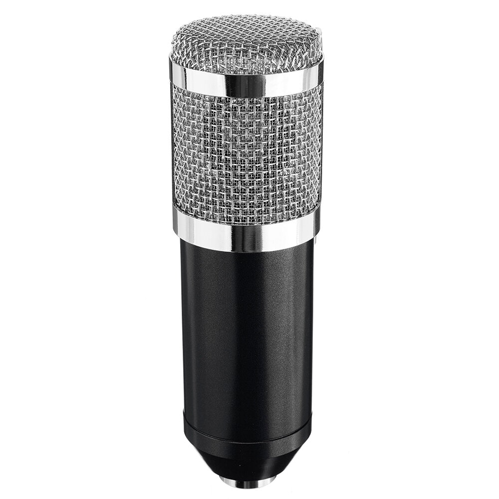 Condenser Microphone with Live Studio Sound Card Recording Mount Boom Stand Mic Kit for Live Broadcast K Song enlarge