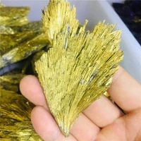 natural quartz crystal jet stone rainbow titanium cluster mineral specimen healing 1pc