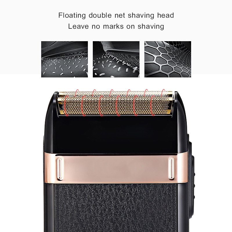 IXueJie Electric Shaver for Men Professional Rechargeable Beard Trimmer Barber Clippers Shaver Razor Waterproof Shaving Machine enlarge