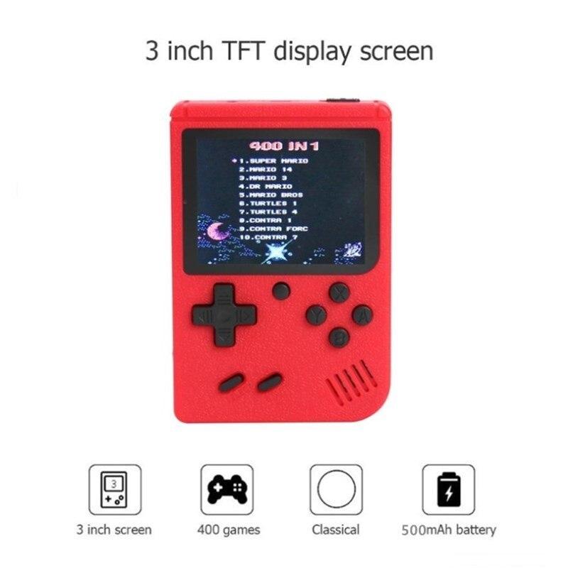 Consola de videojuegos Retro para niños, consola portátil de bolsillo de 8...