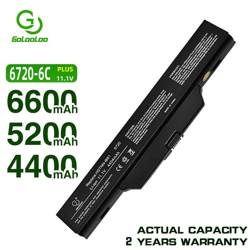 Golooloo 6 ячеек аккумулятора для hp 550 6720s 6730s 6735s 6830s 6820s для COMPAQ 511 615 610 451085-141 451086-121 451086-161
