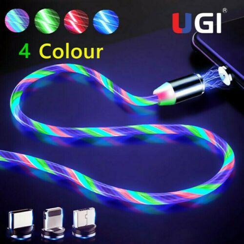 UGI magnético Cable de cargador para IOS tipo C USB-C Micro USB...