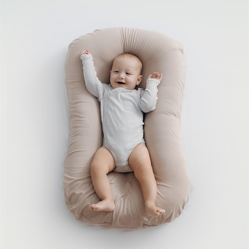 Infant Newborn Baby Lounger Portable Baby Nest Bed for Girls Boys Cotton Crib Toddler Bed Baby Sleeper Bed Uterine Bionic Bed enlarge