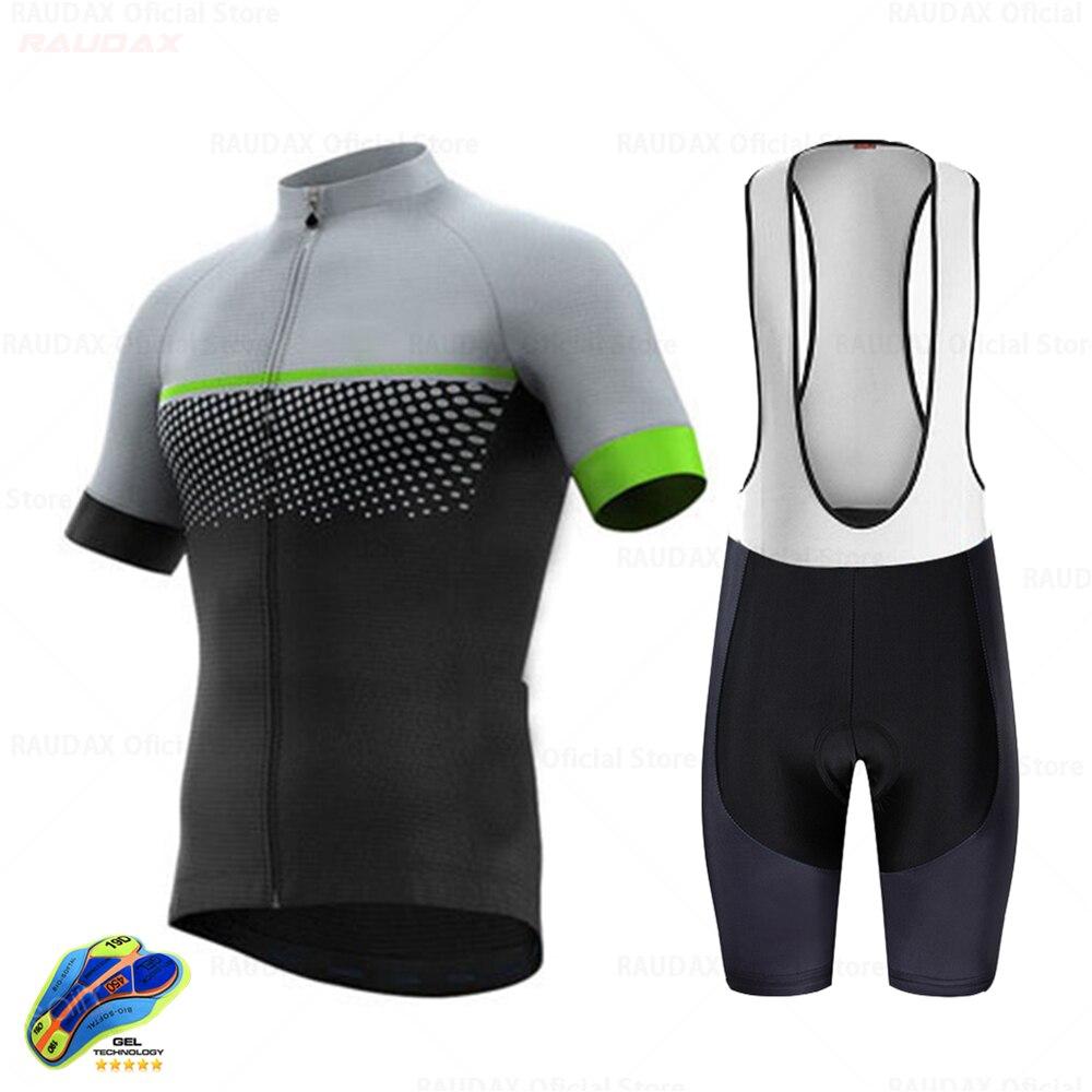 Raudax-Ropa De Ciclismo para Hombre, Maillot De manga corta para triatlón, 2021