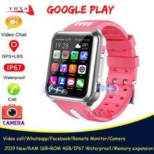 Smart 4G GPS enfants étudiant Bluetooth musique caméra montre-bracelet Whatsapp vidéo appel moniteur gps Tracker Location Android téléphone montre