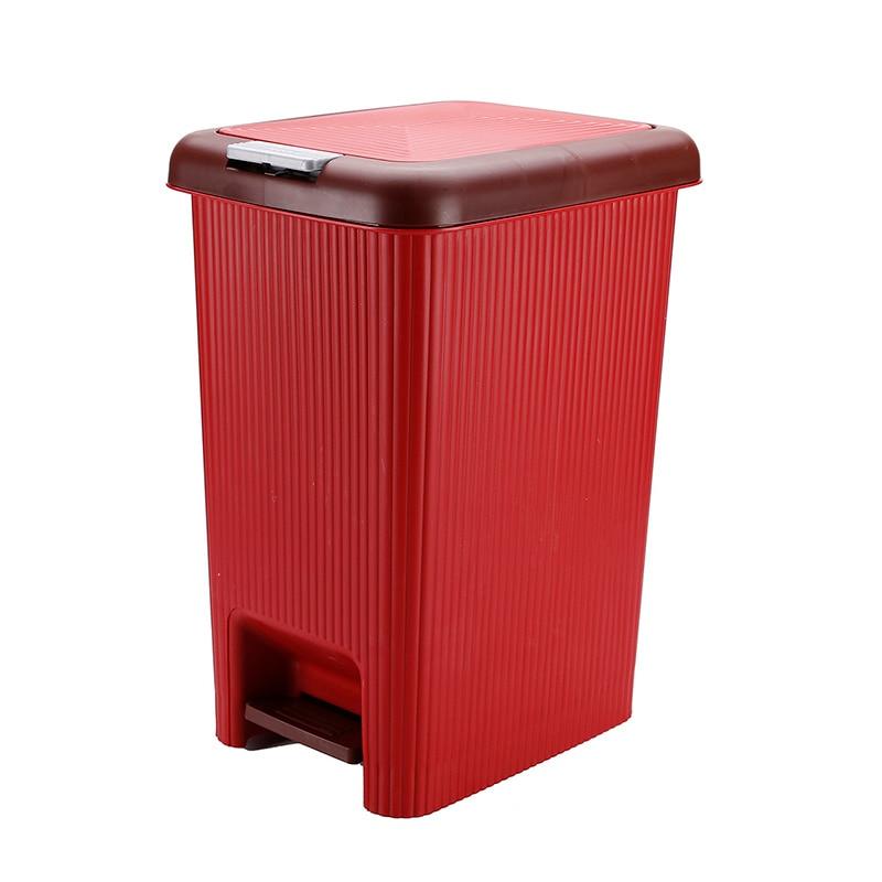 Large Capacity Trash Can Push Lid Toilet Waterproof Narrow Seam Double Layer Trash Can Office Cubo De Basura Home Item BS5LJT enlarge