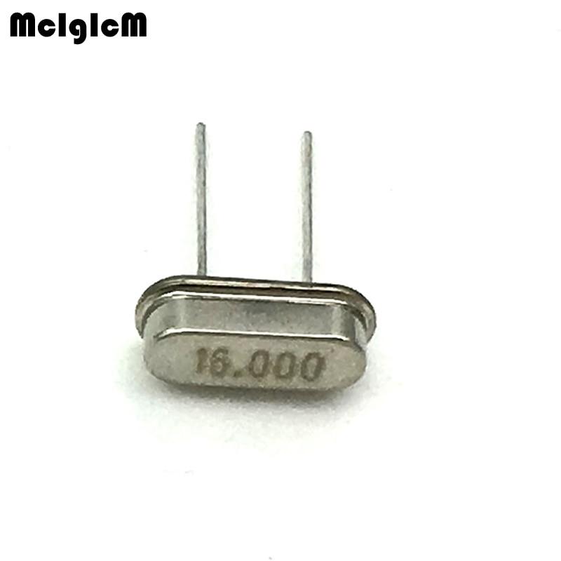20 шт HC 49S 16 МГц 20ppm 20pF Кварцевый резонатор м 000 кристалл|Резонаторы| |