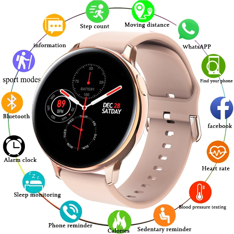 2021 ECG + PPG smart watch men's and women's sports heart rate multi-function fitness bracelet smartwatch for Android IOS