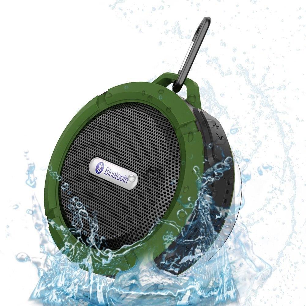 Columna portátil Mini Altavoz Bluetooth impermeable ducha al aire libre caja de sonido coche inalámbrico subwoofe altavoz para la computadora del teléfono
