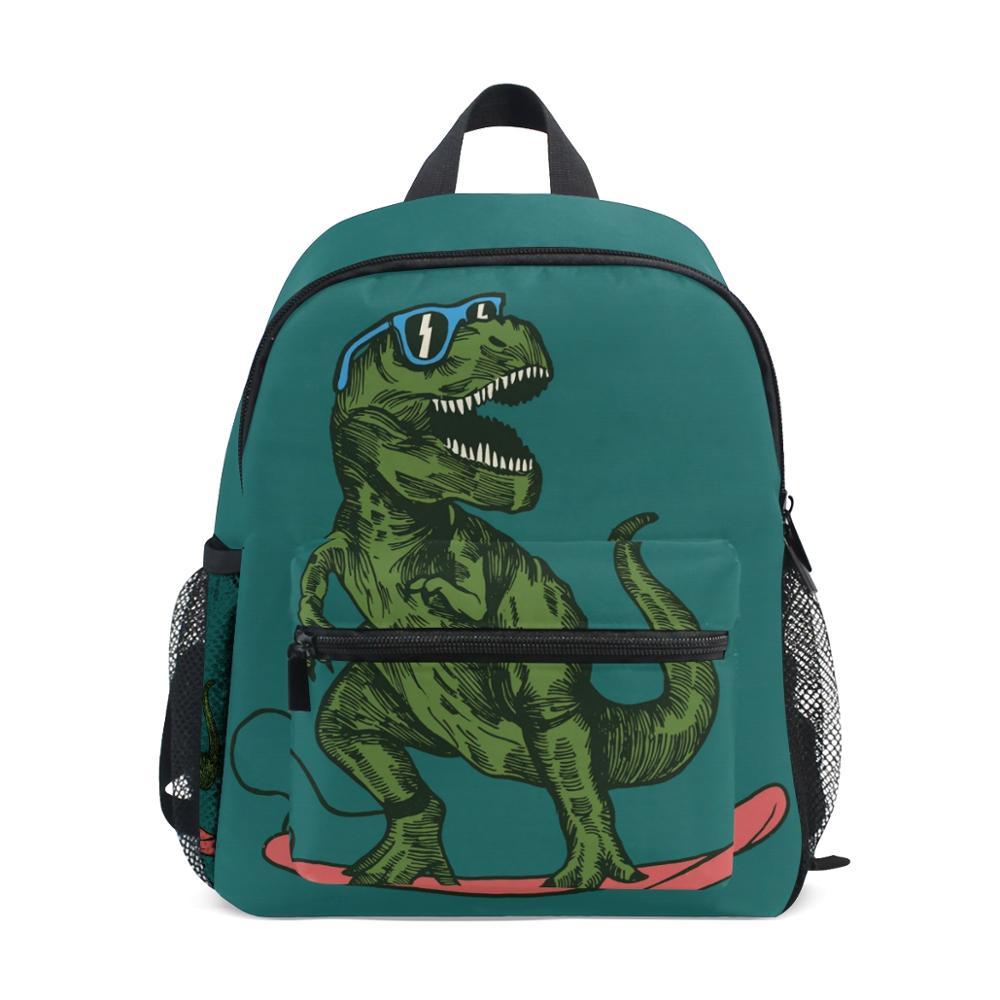 ALAZA 2020 حقيبة ظهر مدرسية للأطفال ديناصور رياض الأطفال حقيبة ما قبل المدرسة للطفل مناسبة لمدة 3-8 سنوات من العمر حقائب الظهر حقيبة أنيقة